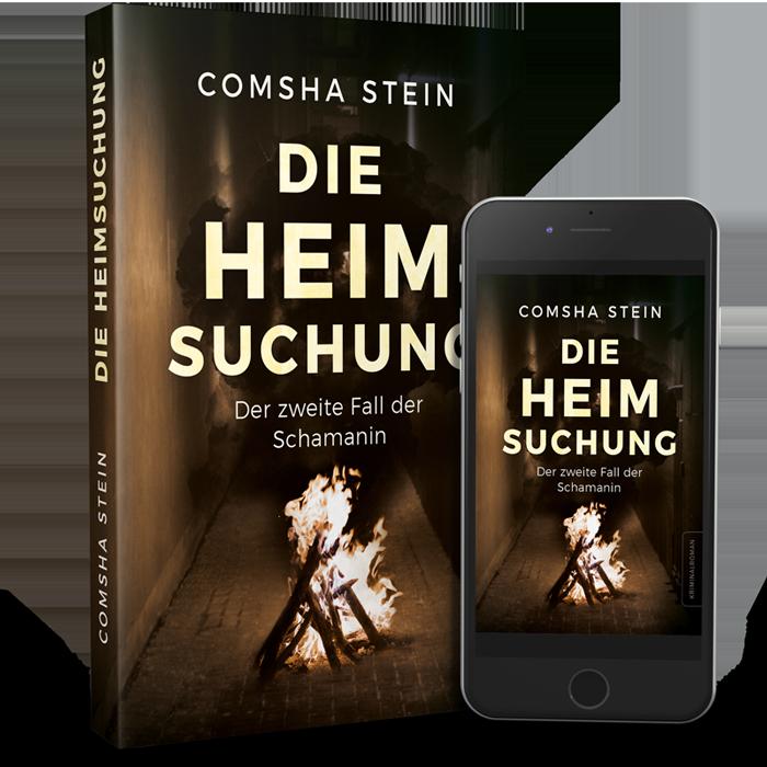 Comsha Stein - Die Heimsuchung, Buchtitel
